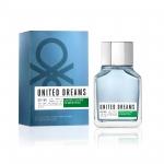 Туалетная вода United Dreams Men Go Far Benetton для мужчин, 100мл