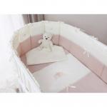 Комплект в круглую кроватку Perina Эстель Oval 7 предметов 125х75