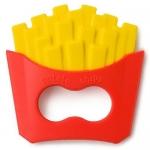 Прорезыватель Happy Baby силиконовый от 4 мес 20029 French Fries