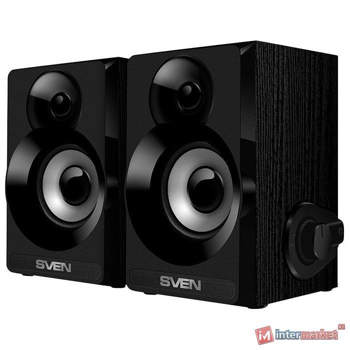 Компьютерная акустика SVEN Колонки SPS-517 черный /